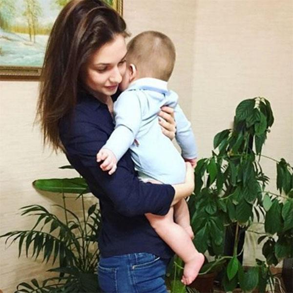 Канануха с ребенком