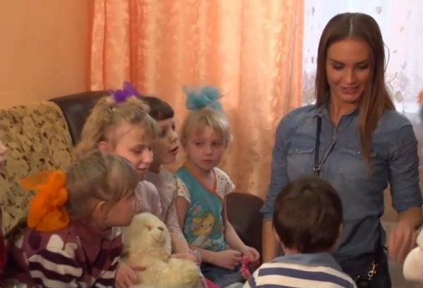 Горожанова в детском доме