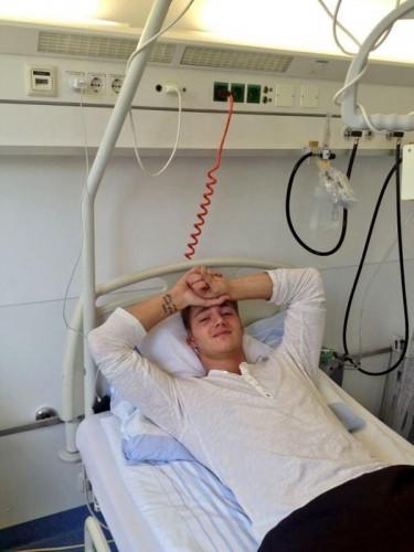 Воробьев в больнице